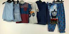 Boys 3/4 Yrs Clothes Bundle Hoodie Pj T-shirts Denim Next Shorts Vest Thomas