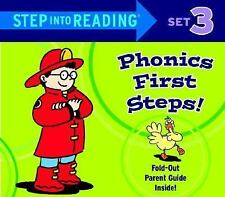 STEP INTO READING PHONICS FIRST STEPS SET 3* Box Set Book By RANDOM HOUSE NEW!