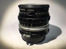 Nikkor-H Auto Lens - F=28mm L1A Kogaku Japan