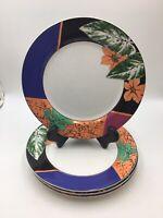 """Dinner Plates  by Mikasa Maxima Amorosa Lot of 4, 10.25"""""""