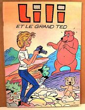 "album bd broché ""LILI n°47 -  et le grand ted "" reed 1980"
