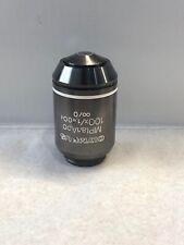 Objetivo de aceite 100x Olympus MPlanApo