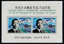 KOREA 844a MINT NH SOUVENIR SHEET, PRESIDENT PARK