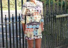 Petite 3/4 Sleeve Short/Mini Shirt Dresses for Women