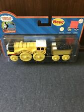 Thomas Wooden Railway Molly And Tender Rare And Retired New In Box!