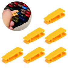 New listing 6× Fuse Puller 30mm Car Automotive Mini Micro Blade Fuse Tool Extractor Yellow U