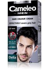DELIA CAMELEO MEN HAIR COLOUR CREAM Grey Hair Dye NO AMMONIA