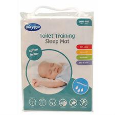 BN Playgro Cotton Jersey Waterproof Toilet Training Sleep Mat Mattress Protector