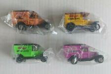 Vintage New Matchbox Kellogg's Model A & T Ford Trucks Lot of 4 1979 & 1989