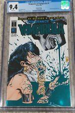 Vengeance of Vampirella #1 Blue Foil CGC 9.4 | Harris Comics 6/1994 Joe Quesada