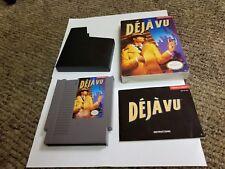 Deja Vu (Nintendo Entertainment System, 1990) NES COMPLETE