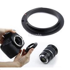 For Canon EOS DSLR/SLR 5D3 5D2 60D 400D 58mm Macro lens Reverse Adapter Ring 1PC