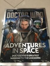 THE ESSENTIAL DOCTOR WHO - ADVENTURES IN SPACE bookazine BRAND NEW!!!