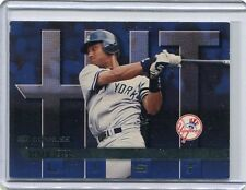 1997 Donruss Hit List Baseball Card Derek Jeter New York Yankees Near Mint # 415
