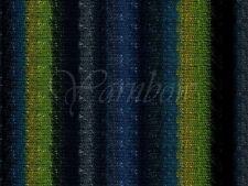 NORO ::Silk Garden #252:: silk mohair wool yarn Black-Grey-Teal-Green-Navy