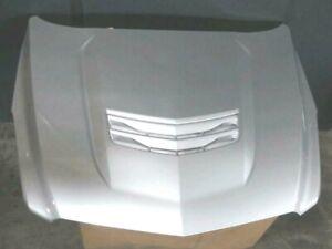 New GM OEM Cadillac ATS-V ATS V Hood 2013-2019 Silver with louver Genuine