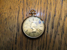 New Old Stock LeJour Quartz PocketWatch-Gold Plated Case-NOT WORKING