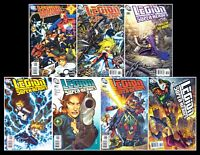 Legion of Super-Heroes> Set of 7 #s 37-38-39-40-41+43-44> DC 2005> F/VF/NM> B&B