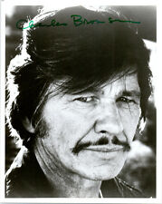 ORIGINAL Vintage CHARLES BRONSON 1970's Photograph with SIGNED AUTOGRAPH