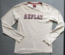 Replay Womens Size 12 - 14 Long Sleeve Top T Shirt
