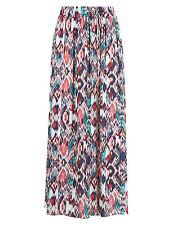 M&S Multi  Printed Lightweight Pull on  Skirt Size 14 BNWT