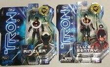 New listing Tron Legacy Rinzler and Clu sentry 3.75 Misb