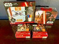 Unopened NEW! Toy Lot STAR WARS Puzzles X-Wing Kit Pixel Pops Han Solo Leia Set