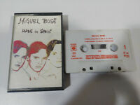 MIGUEL BOSE Gemacht IN Spain Andy Warhol Cover Tape Kassette 1983 Spain Ed
