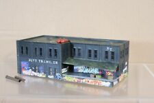 WALTHERS N SCALE AMERICAN KITT TRANSFER FACTORY BUILDING MODEL & LOADING DOCK nv