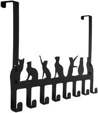 Over the Door Hook Hanger CATS Heavy Duty Organizer Rack for Towel  Hat Metal