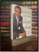 The Audacity Of Hope ✍SIGNED✍ by BARACK OBAMA Hardback 1st Edition First Print
