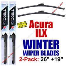 WINTER Wipers 2-Pack Premium Grade - fit 2013+ Acura ILX - 35260/35190
