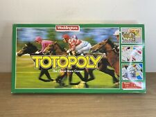 Vintage 1983 Waddingtons Totopoly Board Game - Complete