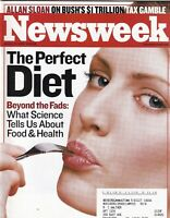 Newsweek Mag The Perfect Diet Allan Sloan January 20, 2003 102219nonr