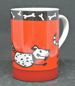 Tasse 1 Kaffeebecher mit Hund ca10,5cm Firma Könitz, guter Zustand nicht benutzt