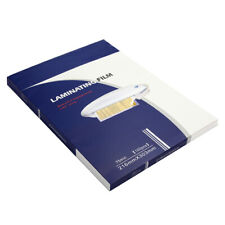 More details for 100 x a4 laminating pouches gloss laminator laminate sheets sleeves 150 micron