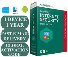 KASPERSKY INTERNET SECURITY 1 MULTI-DEVICE 1 YEAR ACTIVATION CODE GLOBAL 2020