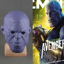 2018 Avengers Infinity War Thanos Mask Cosplay Mask Superhero Mask Latex Props