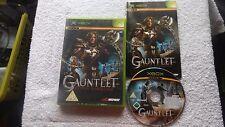 GAUNTLET SEVEN SORROWS XBOX V.G.C. FAST POST ( action/adventure hack & slash )