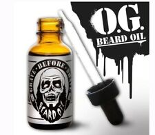 Grave Before Shave Beard Oil 1 Ounce Bottle OG Scent