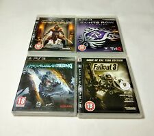 PS3 Games Bundle Job Lot FallOut 3 Conan Metalgear Rising