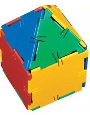 Polydron Play Cube Fantastic 26 Piece Set. The Educational Construction Toy!