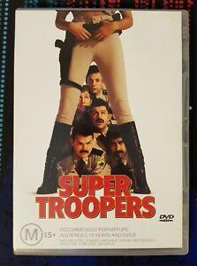 Super Troopers Movie DVD Region 4 AUS Comedy