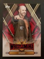 2019 Topps WWE Road to WrestleMania 35 Roster #WM-28 Cesaro