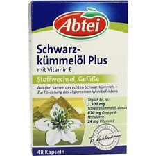 ABTEI Schwarzkümmelöl Plus Kapseln 48 St