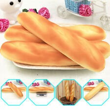 Artificial Fake French Baguette Bread Kitchen Festival Props Kids Toy PU Foam