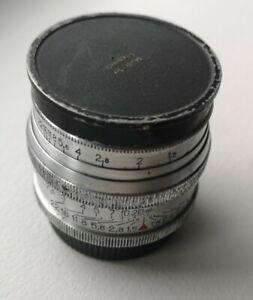 CARL ZEISS JENA SONNAR 1938 5cm F1.5 T 50mm 1.5 LEICA M39 LTM Vintage Lens