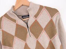 KD1632 Massimo Dutti Maglione Pullover Cotone-cashmere Originale Premium Taglia L/40