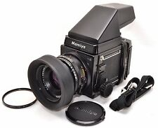 [EXC+] Mamiya RB67 Pro S Film Camera SEKOR C 90mm w/ PRISM FINDER MODEL2, STRAP,