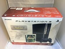 Sony Playstation 3 PS3 160GB Game System Uncharted Limited Edition